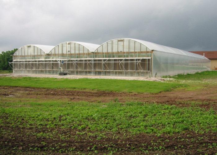 CSA Farm Green Bay WI hoop house