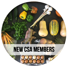 CSA Farm Green Bay WI new csa members