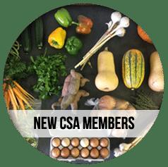CSA Farm Green Bay WI new csa members