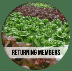 CSA Farm Green Bay WI returning csa members